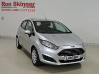 USED 2014 14 FORD FIESTA 1.5 STYLE TDCI 5d 74 BHP