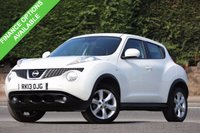 USED 2013 13 NISSAN JUKE 1.5 ACENTA DCI 5d 110 BHP Nissan Service History & No Advisories