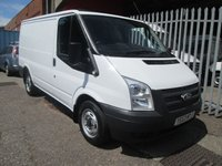 2014 FORD TRANSIT 260 SWB Low roof 2.2 TDCi 100 PS *ONE OWNER*40000 MILES* £8250.00