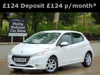 USED 2014 PEUGEOT 208 1.6 E-HDI ACTIVE 5d 92 BHP GREAT SPEC, TOUCHSCREEN DAB RADIO, BLUETOOTH, CRUISE CONTROL