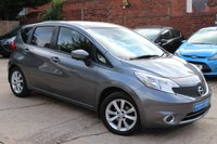 USED 2014 63 NISSAN NOTE 1.2 ACENTA PREMIUM SAFETY DIG-S 5d AUTO 98 BHP **** SAT NAV * REVERSE CAMERA * CLIMATE * BLUETOOTH ****