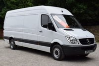 USED 2013 63 MERCEDES-BENZ SPRINTER 2.1 313 CDI LWB 1d 129 BHP