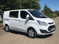 2015 FORD TRANSIT CUSTOM 2.2 290 LIMITED LR DCB 1d 124 BHP Double Cab £13995.00
