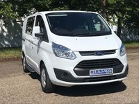 USED 2015 65 FORD TRANSIT CUSTOM 2.2 290 LIMITED LR DCB 1d 124 BHP Double Cab
