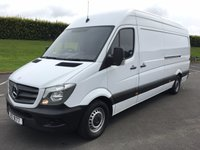 USED 2015 MERCEDES-BENZ SPRINTER 2.1 313 CDI LWB 1d 129 BHP FULLY SERVICED INCLUDING NEW CLUTCH AND FLYWHEEL