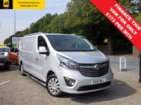USED 2015 15 VAUXHALL VIVARO 1.6 2900 L2H1 CDTI P/V SPORTIVE 1d 114 BHP LOVELY VAN STILL UNDER MANUFACTURERS WARRANTY UNTIL MAY 2018, BLUETOOTH, AIR CONDITIONING, CRUISE CONTROL!