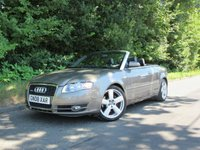 USED 2008 08 AUDI A4 1.8 T S LINE 2d CONVERTIBLE 161 BHP