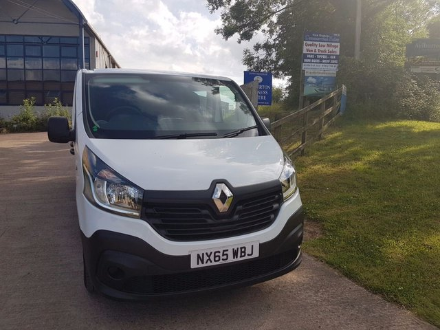 2015 65 RENAULT TRAFIC 1.6 LL29 BUSINESS DCI S/R W/V 1d 115 BHP
