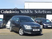 USED 2014 14 SKODA ROOMSTER 1.2 SE TSI DSG 5d AUTO 105 BHP ONE FORMER KEEPER with FULL SERVICE HISTORY & FEB 2018 MOT, LOW MILEAGE AUTOMATIC CAR,