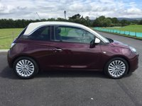 USED 2014 14 VAUXHALL ADAM 1.2 GLAM Start/Stop 3d 69 BHP