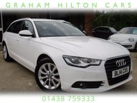 "USED 2014 14 AUDI A6 2.0 AVANT TDI ULTRA SE 5d AUTO 188 BHP ONE OWNER, 17"" ALLOYS,  SAT NAV, FULL LEATHER, PARKING SENSORS, FULL MAIN DEALER SERVICE HISTORY"