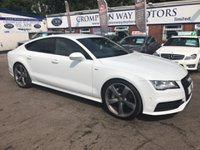 USED 2013 13 AUDI A7 3.0 TDI QUATTRO S LINE BLACK EDITION 5d AUTO 309 BHP 0% AVAILABLE ON THIS CAR PLEASE CALL 01204 317705