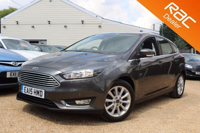View our 2015 15 FORD FOCUS 1.0 TITANIUM 5d 124 BHP
