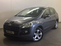 USED 2011 11 PEUGEOT 3008 1.6 SPORT HDI 5d AUTO 112 BHP AIR CON ALLOYS MOT 07/18 STUNNING GREY MET WITH CONTRASTING BLACK CLOTH TRIM. 17 INCH ALLOYS. COLOUR CODED TRIMS. PARKING SENSORS. AIR CON. MFSW. TOWBAR. MOT 07/18. ONE PREV OWNER. SERVICE HISTORY. TEL 01937 849492