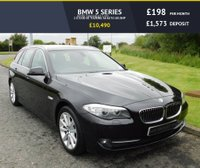 USED 2011 60 BMW 5 SERIES 2.0 520D SE TOURING 5d AUTO 181 BHP