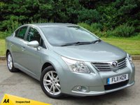 USED 2011 11 TOYOTA AVENSIS 1.8 VALVEMATIC TR 4d 145 BHP FULL SERVICE HISTORY & 128 POINT AA INSPECTED