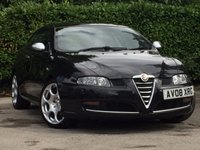 USED 2008 08 ALFA ROMEO GT 2.0 JTS BLACKLINE 3d 165 BHP A TRULY STUNNING 2 OWNER LIMITED EDITION BLACKLINE ALFA ROMEO # FULL SERVICE HISTORY CONSISTING OF 9 SERVICE STAMPS THE LAST CARRIED OUT AT 65980 MILES ON THE 16/06/2017 # 3 MONTHS EXTENDABLE WARRANTY + 1 YEAR AA ROADSIDE ASSIST INCLUDED IN THE PRICE #