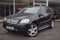 USED 2008 57 MERCEDES-BENZ M CLASS 3.0 ML320 CDI SPORT 5d AUTO 222 BHP