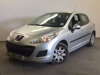 USED 2010 10 PEUGEOT 207 1.4 S HDI 5d 68 BHP AIR CON MOT 06/18 STUNNING SILVER MET WITH CONTRASTING BLACK CLOTH TRIM. AIR CON. R/CD PLAYER. 6 SPEED MANUAL. PAS. MOT 06/18. AGE/MILEAGE RELATED SALE. TEL 01937 849492.