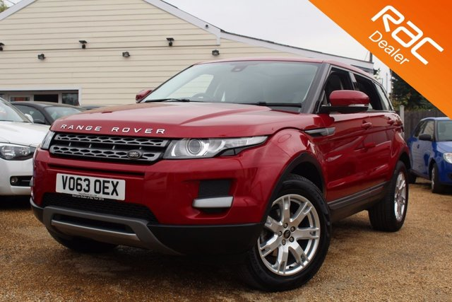 View our 2013 LAND ROVER RANGE ROVER EVOQUE 2.2 SD4 PURE 5d 190 BHP