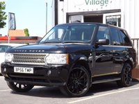 USED 2006 56 LAND ROVER RANGE ROVER 3.6 TDV8 VOGUE 5d 272 BHP FULL SERVICE HISTORY 11 STAMPS