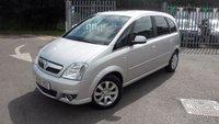 USED 2010 59 VAUXHALL MERIVA 1.6 DESIGN 16V 5d AUTO 100 BHP AUTOMATIC