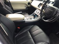 """USED 2013 63 LAND ROVER RANGE ROVER SPORT 3.0 SDV6 hse SVR EXCLUSIVE SVR EXCLUSIVE MODEL SVR BODYSTYLING 22""""SVR ALLOYS IN WHITE WITH BLACK LEATHER FSH"""