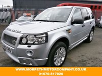 USED 2008 08 LAND ROVER FREELANDER 2.2 TD4 HSE 5d 159 BHP ***FULL HST STYLING,PAN ROOF,SAT NAV,BLUETOOTH***
