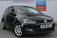 USED 2014 14 VOLKSWAGEN POLO 1.2 MATCH EDITION 3d 59 BHP **ONE OWNER FROM NEW**