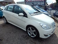 2011 MERCEDES-BENZ B CLASS 1.5 B160 BLUEEFFICIENCY SPORT 5d 95 BHP £6995.00