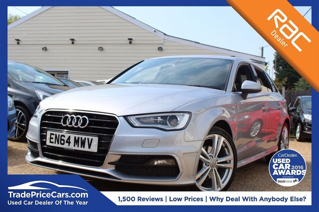 View our 2015 64 AUDI A3 1.6 TDI S LINE 5d 109 BHP