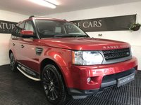 USED 2010 10 LAND ROVER RANGE ROVER SPORT 3.0 TDV6 HSE 5d AUTO 245 BHP *TOWBAR COMPATIBLE*