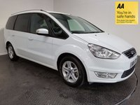 USED 2015 64 FORD GALAXY 2.0 ZETEC TDCI 5d AUTO 138 BHP HISTORY-1 OWNER-BLUETOOTH-A/C