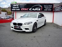 USED 2017 BMW 5 SERIES 4.4 M5 COMPETITION EDITION 4d AUTO 592 BHP