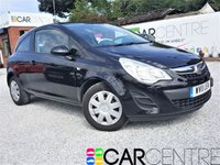 USED 2011 11 VAUXHALL CORSA 1.2 EXCLUSIV AC CDTI ECOFLEX 3d 73 BHP 1 PREVIOUS OWNER + FSH