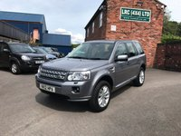 USED 2012 12 LAND ROVER FREELANDER 2.2 SD4 XS 5d AUTO 190 BHP This vehicle comes fully serviced, with a 6 MONTHS renewable warranty,12 Months M.O.T, Fully prepared ready for 12 months hassle free motoring.