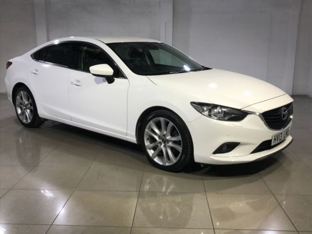 View our 2013 13 MAZDA 6 2.2 D SPORT NAV 4d 148 BHP