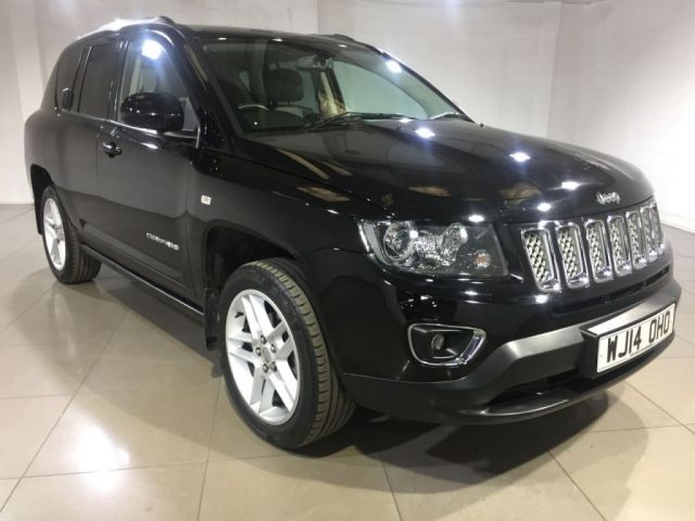 View our 2014 14 JEEP COMPASS 2.1 CRD LIMITED 5d 161 BHP