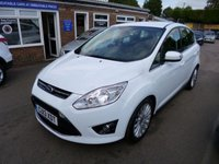 USED 2013 13 FORD C-MAX 1.0 TITANIUM ECOBOOST (125PS) (2013)  THIS VEHICLE IS AT SITE 2 - TO VIEW CALL US ON 01903 323333