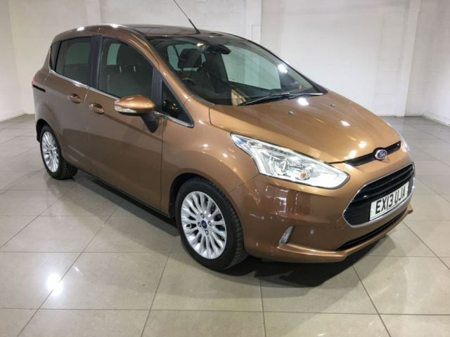 View our 2013 13 FORD B-MAX 1.6 TITANIUM 5d AUTO 104 BHP