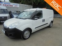 USED 2012 12 VAUXHALL COMBO 1.3 *LWB*PARKING SENSORS*JUST SERVICED AND MOT'D*