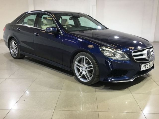 View our 2013 63 MERCEDES-BENZ E CLASS 2.1 E300 BLUETEC HYBRID AMG SPORT 4d AUTO 202 BHP