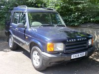 2001 LAND ROVER DISCOVERY 2.5 Td5