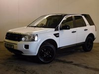 USED 2011 11 LAND ROVER FREELANDER 2 2.2 TD4 S 5d AUTO 150 BHP FACELIFT COLOUR CODED TRIMS PRIVACY FSH FACELIFT MODEL 4WD. UPGRADED COLOUR CODED TRIMS. STUNNING WHITE WITH CONTRASTING BLACK CLOTH TRIM. 16 INCH BLACK ALLOYS. PRIVACY GLASS. PARKING SENSORS. AIR CON. R/CD PLAYER. MOT 07/18. ONE PREV OWNER. FULL SERVICE HISTORY. PRISTINE CONDITION. FCA FINANCE APPROVED DEALER. TEL 01937 849492.