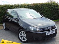 USED 2011 11 VOLKSWAGEN GOLF 1.6 MATCH TDI 5d 103 BHP 128 POINT AA INSPECTED & 12 MONTHS FREE AA MEMBERSHIP