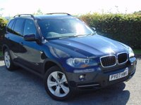 USED 2007 07 BMW X5 2.5 D SE 7STR 5d AUTOMATIC *7 SEATER with SATELLITE NAVIGATION & BLUETOOTH
