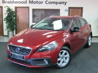 USED 2013 63 VOLVO V40 1.6 D2 CROSS COUNTRY SE 5d AUTO 113 BHP