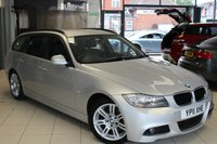 USED 2011 11 BMW 3 SERIES 2.0 320D M SPORT TOURING 5d 181 BHP FULL SERVICE HISTORY + 17 INCH ALLOYS + REAR PARKING SENSORS + CRUISE CONTROL + SPORT FRONT SEATS + AIR CONDITIONING
