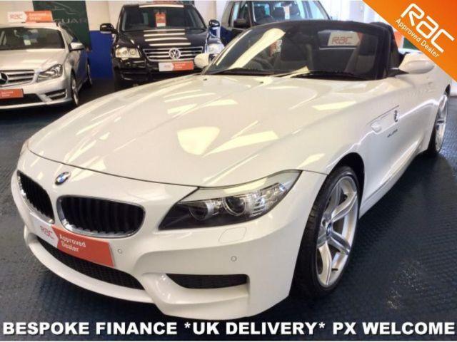 2013 13 BMW Z4 SDRIVE20i M SPORT CONVERTIBLE START STOP WHITE