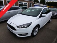USED 2015 15 FORD FOCUS 1.0 ZETEC ECOBOOST (100PS) (2015) THIS VEHICLE IS AT SITE 1 - TO VIEW CALL US ON 01903 892224